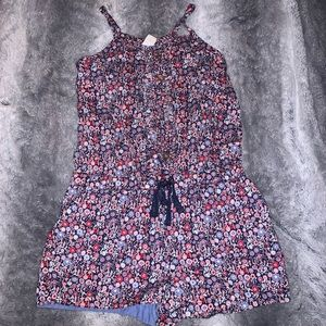 Floral 4th of July jumper